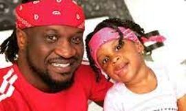 Musically good – Paul Okoye hypes his little daughter, Nadia as she shows off her rap skills (Video)