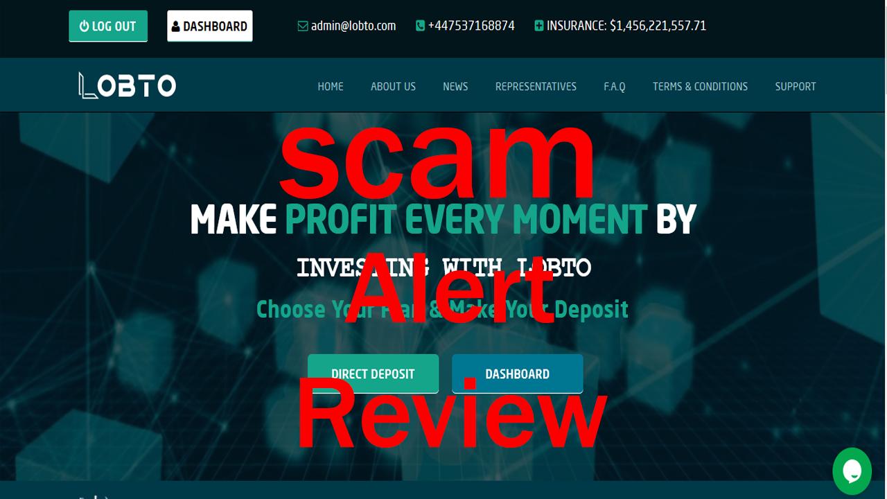 Lobto review 2021 platform fake or legit